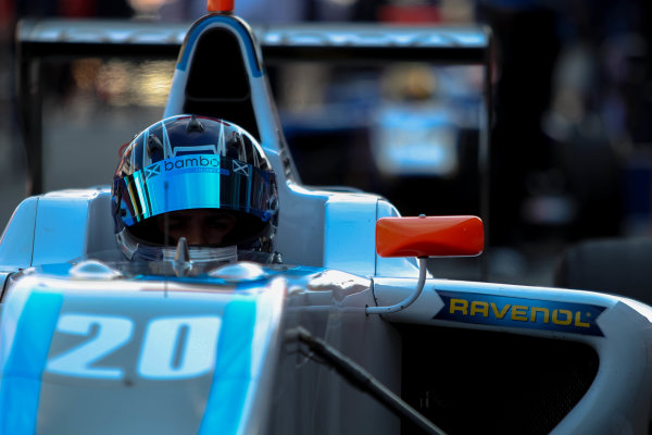 2013 GP3 Series. Round 1.  Circuit de Catalunya, Barcelona, Spain.  12th May 2 xxx   World Copyright: Malcolm Griffiths/GP3 Media Service.  Ref: Digital ImageC76D5663.JPG Lewis Williamson (GBR) Bamboo Engineering
