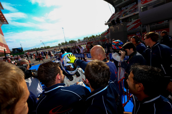 2013 GP3 Series. Round 1.  Circuit de Catalunya, Barcelona, Spain.  12th May Sunday Race 02 Aaro Vainio (  Portrait  World Copyright: Malcolm Griffiths/GP3 Media Service.  Ref: Digital ImageF80P3957.JPG