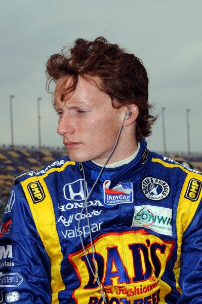 Mike Conway (GBR), Dreyer & Reinbold Racing.IndyCar Series, Rd3, Road Runner Turbo 300, Kansas Speedway, Kansas, USA. 25-26 April 2009.