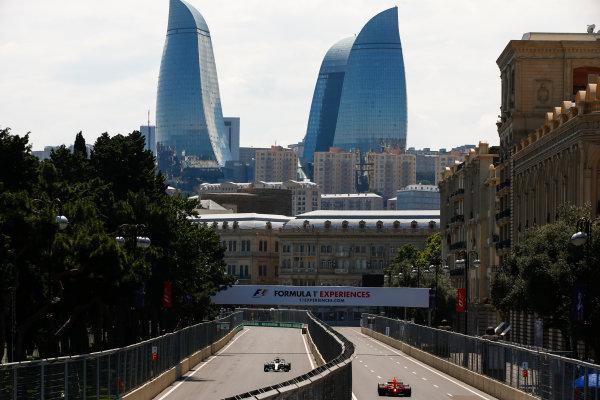 Baku City Circuit, Baku, Azerbaijan. Friday 23 June 2017. Lewis Hamilton, Mercedes F1 W08 EQ Power+. World Copyright: Andrew Hone/LAT Images ref: Digital Image _ONY8322