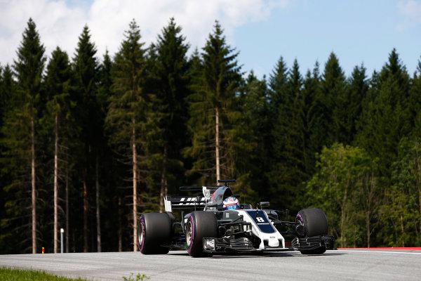 Red Bull Ring, Spielberg, Austria. Friday 7 July 2017. Romain Grosjean, Haas VF-17. World Copyright: Andrew Hone/LAT Images ref: Digital Image _ONZ9912