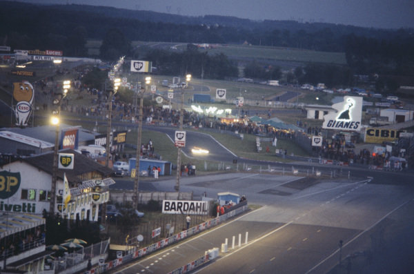 Le Mans, France. 10th - 11th June 1978.The new Ford Chicane as night falls, atmosphere.World Copyright: LAT PhotographicRef: 78LM21.