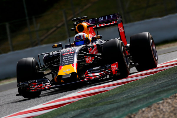 Circuit de Catalunya, Barcelona, Spain. Wednesday 13 May 2015. Pierre Gasly, Red Bull Racing RB11 Renault.  World Copyright: Alastair Staley/LAT Photographic. ref: Digital Image _79P5106