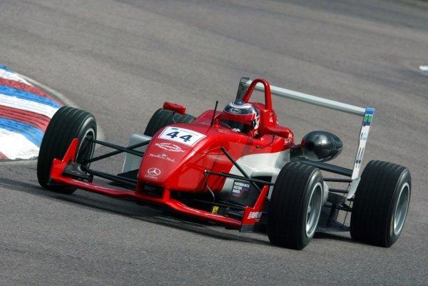 Leo Mansell (GBR) Fortec Motorsport British Formula Three, Thruxton, England.23rd September 2006DIGITAL IMAGE