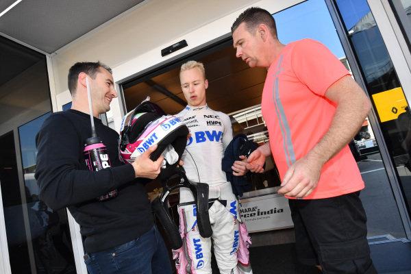 Nikita Mazepin (RUS) Force India F1