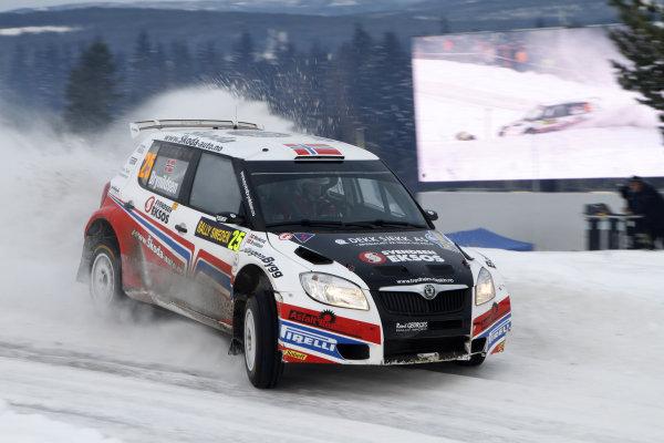 2010 FIA World Rally ChampionshipRound 01Rally Sweden 11-14 February 2010Eyvind Brynildse, Skoda S2000, ActionWorldwide Copyright: McKlein/LAT
