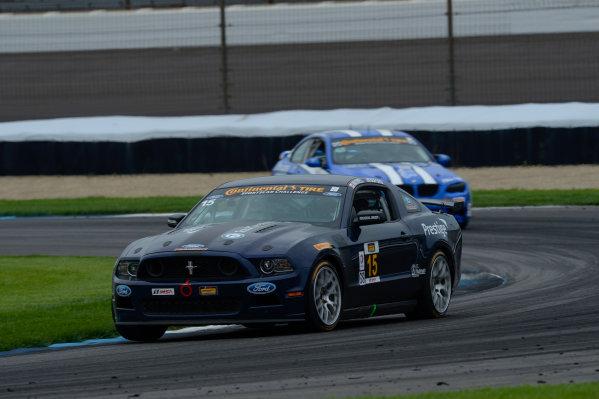 24-25 July,  2014, Indianapolis, Indiana, USA 15, Mustang, Boss 302 R, GS, Scott Maxwell, Jade Buford ©2014, Richard Dole LAT Photo USA