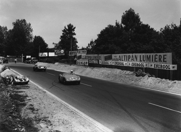 Le Mans, France. 22nd - 23rd June 1957.
