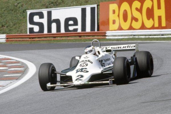 1981 Austrian Grand Prix.Osterreichring, Austria. 14-16 August 1981.Carlos Reutemann (Williams FW07C-Ford Cosworth), 5th position.World Copyright: LAT PhotographicRef: 35mm transparency 81AUT02