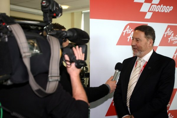 Richard Phillips (GBR), Managing Director Silverstone Circuit, is interviewed.