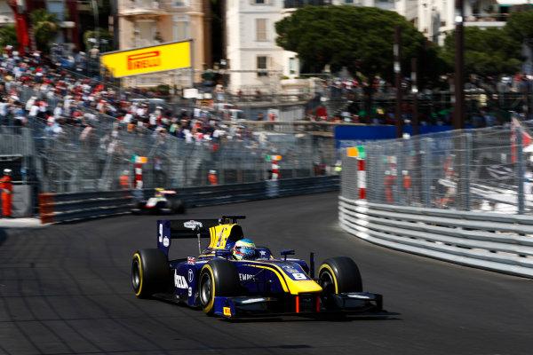 2017 FIA Formula 2 Round 3. Monte Carlo, Monaco. Saturday 27 May 2017. Oliver Rowland (GBR, DAMS)  Photo: Zak Mauger/FIA Formula 2. ref: Digital Image _X4I9581