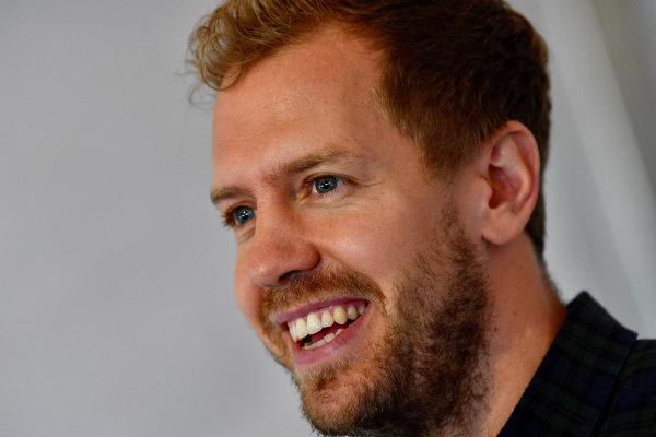 Sebastian Vettel (GER) Ferrari at Audi Sport TT Cup, DTM Championship, Hockenheim, Germany, 14-15 October 2017.