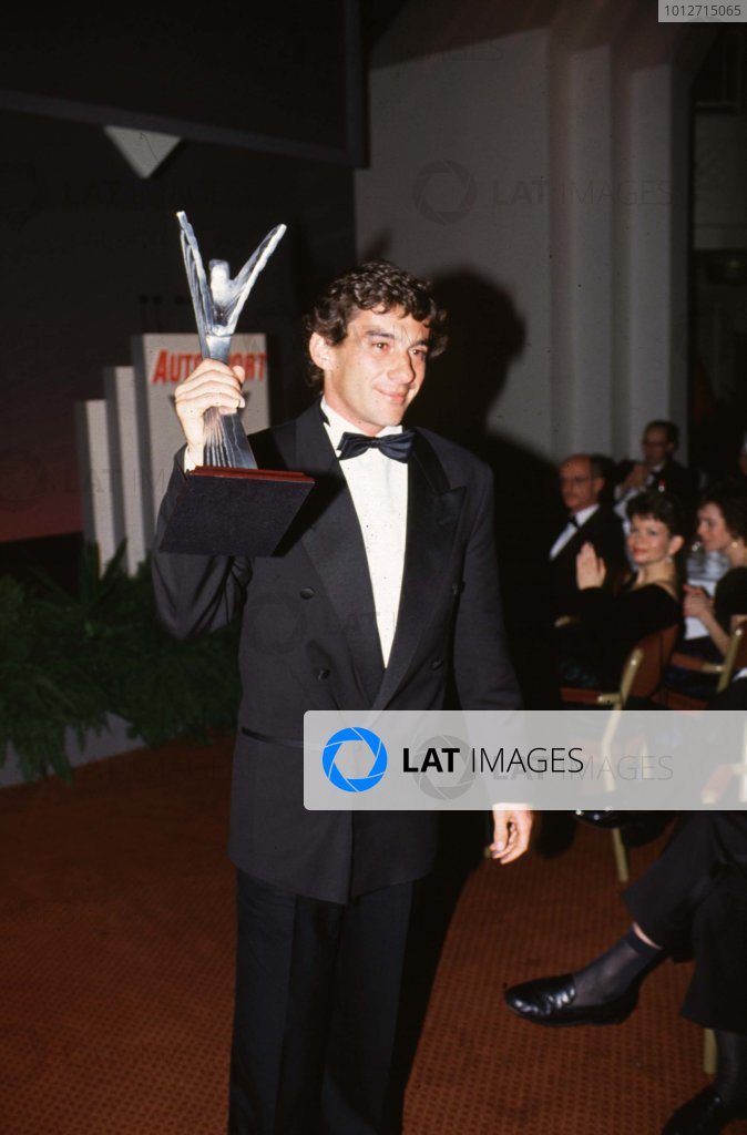 1991 Autosport Awards, Grosvenor House Hotel, Park Lane, London, Great Britain.