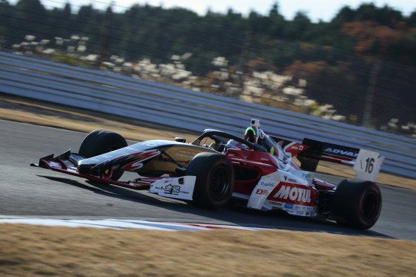 Winner Tomoki Nojiri ( #16 TEAM MUGEN, Dallara SF19 Honda) Photo: Yukio Yoshimi