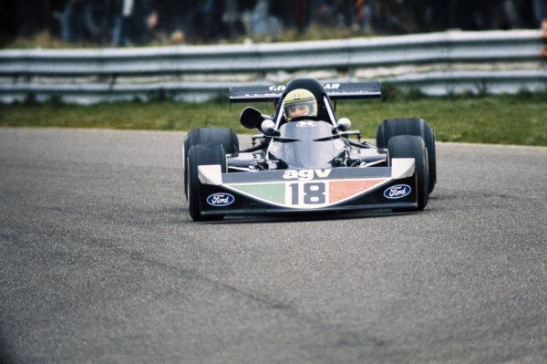 Brian Henton, March 752 Ford BDA/Hart.