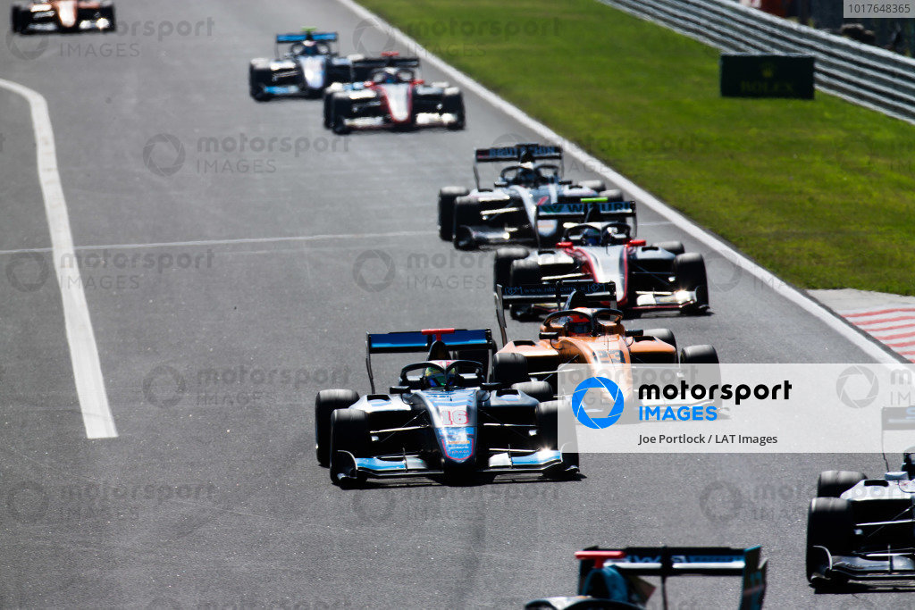 HUNGARORING, HUNGARY - AUGUST 04: Andreas Estner (DEU, Jenzer Motorsport) during the Hungaroring at Hungaroring on August 04, 2019 in Hungaroring, Hungary. (Photo by Joe Portlock / LAT Images / FIA F3 Championship)