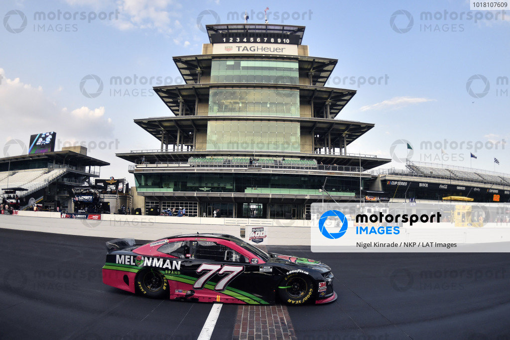 #77: Ross Chastain, Spire Motorsports, Chevrolet Camaro Melon Man Brand