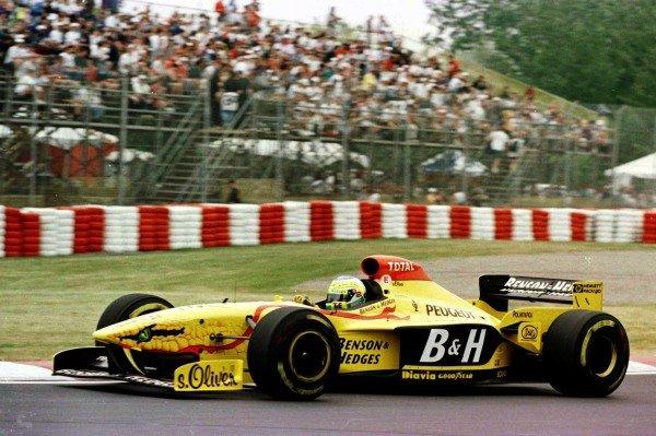 1997 Canadian Grand Prix.Montreal, Quebec, Canada.13-15 June 1997.Giancarlo Fisichella (Jordan 197 Peugeot) 3rd position.World Copyright - LAT Photographic