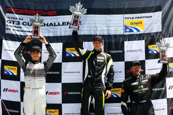 20-22 May 2016, Bowmanville, Ontario, Canada  GT3 Cup Canada, Race 2, Platinum Podium ?2016, Jake Galstad LAT Photo USA