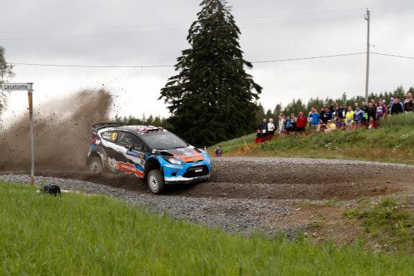 Round 08-Neste Rally Finland 1/8-4/8 2012.Mads Ostberg, Ford WRC, Action.Worldwide Copyright: McKlein/LAT