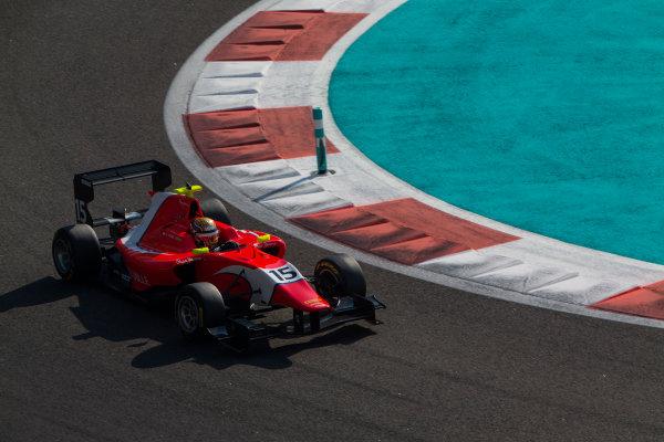 2015 GP3 Series Test 4. Yas Marina Circuit, Abu Dhabi, United Arab Emirates. Thursday 3 December 2015. Charles Leclerc (MON, Arden International)  World Copyright: Sam Bloxham/LAT Photographic. ref: Digital Image _SBL1321