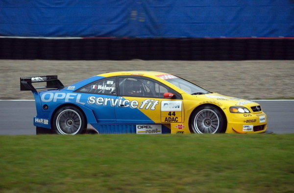 Eric Hellary (FRA) Euroteam Opel Astra Coupe, replaces Yves Olivier for this race.