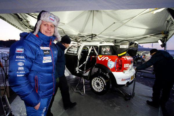 Round 02 - Rally Sweden 09-12 February 2012. Richard Goransson, Mini WRC, Portrait  Worldwide Copyright: McKlein/LAT