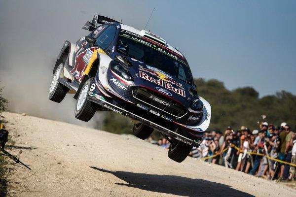 Elfyn Evans in full flight on Rally Argentina