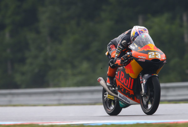 2017 Moto3 Championship  - Round 10 Brno, Czech Republic Friday 4 August 2017 Niccolo Antonelli, Red Bull KTM Ajo World Copyright: Gold and Goose / LAT Images ref: Digital Image 683741