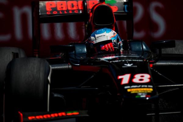 2017 FIA Formula 2 Round 4. Baku City Circuit, Baku, Azerbaijan. Friday 23 June 2017. Nyck De Vries (NED, Rapax)  Photo: Zak Mauger/FIA Formula 2. ref: Digital Image _54I0029