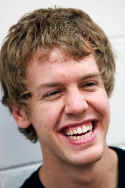 Sebastian Vettel (GER) Scuderia Toro Rosso. Formula One World Championship, Rd 18, Brazilian Grand Prix, Preparations, Interlagos, Sao Paulo, Brazil, Thursday 30 October 2008.