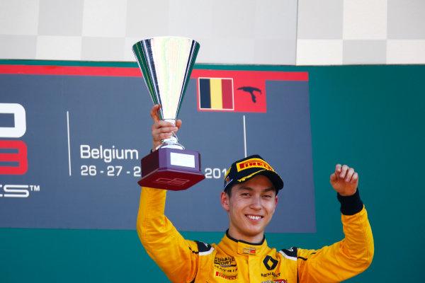 2016 GP3 Series Round 6.  Spa-Francorchamps, Spa, Belgium. Sunday 28 August 2016. Jack Aitken (GBR, Arden International)  Photo: Zak Mauger/GP3 Series Media Service. ref: Digital Image _L0U1765