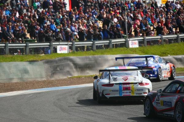 2017 Porsche Carrera Cup, Knockhill, 12th-13th August 2017, Dino Zamparelli (GBR) JTR Porsche Carrera Cup World copyright. JEP/LAT Images