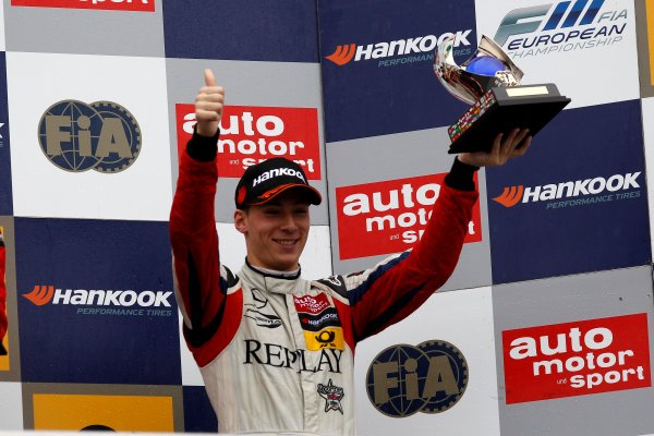 Championship Podium, 3rd Alex Lynn (GBR) PREMA POWERTEAM Dallara F312 Mercedes