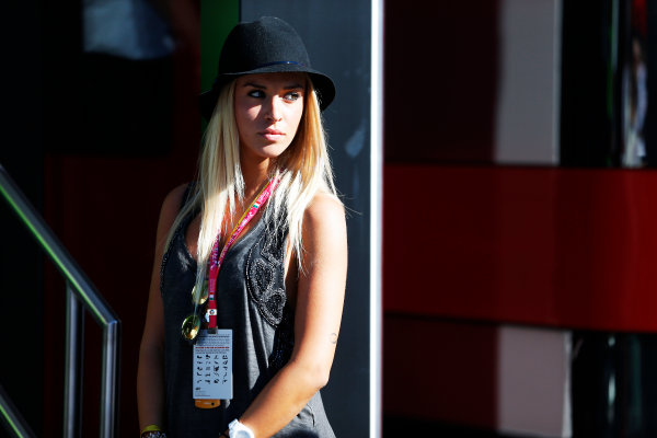 Autodromo Nazionale di Monza, Monza, Italy. Sunday 6 September 2015. A guest in the paddock. World Copyright: Jed Leicester/LAT Photographic ref: Digital Image _L1_9662