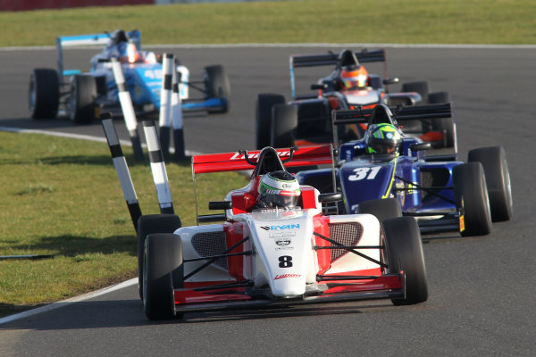 2016 BRDC British Formula 3 Championship, Snetterton, Norfolk. 27th - 28th March 2016. Toby Sowery (GBR) Lanan Racing BRDC F3. World Copyright: Ebrey / LAT Photographic.
