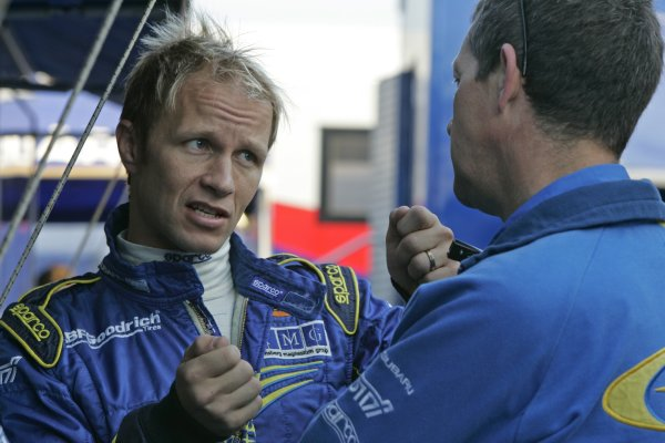 2007 FIA World Rally ChampionshipRound 13Rally of France, Tour de Course 200711-14 October 2007Petter Solberg WRC Subaru, Portrait.Worldwide Copyright: McKlein/LAT