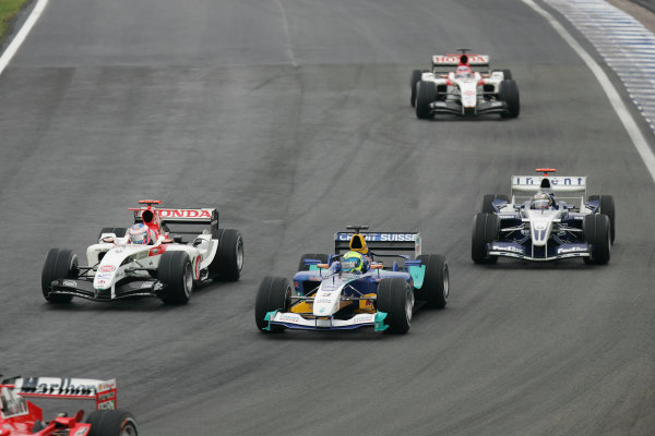 2004 Brazilian Grand Prix-Sunday Race,
