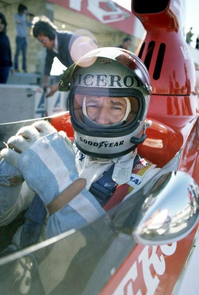 1975 United States Grand Prix.Watkins Glen, New York State, USA. 5th October 1975.Mario Andretti (Parnelli VPJ4-Ford Cosworth).World Copyright: Murenbeeld/LAT Photographic