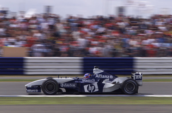2003 British Grand Prix - Sunday Race,2003 British Grand Prix Silverstone, Britain. 20th July 2003 World Copyright: Steve Etherington/LAT Photographic ref: Digital Image Only