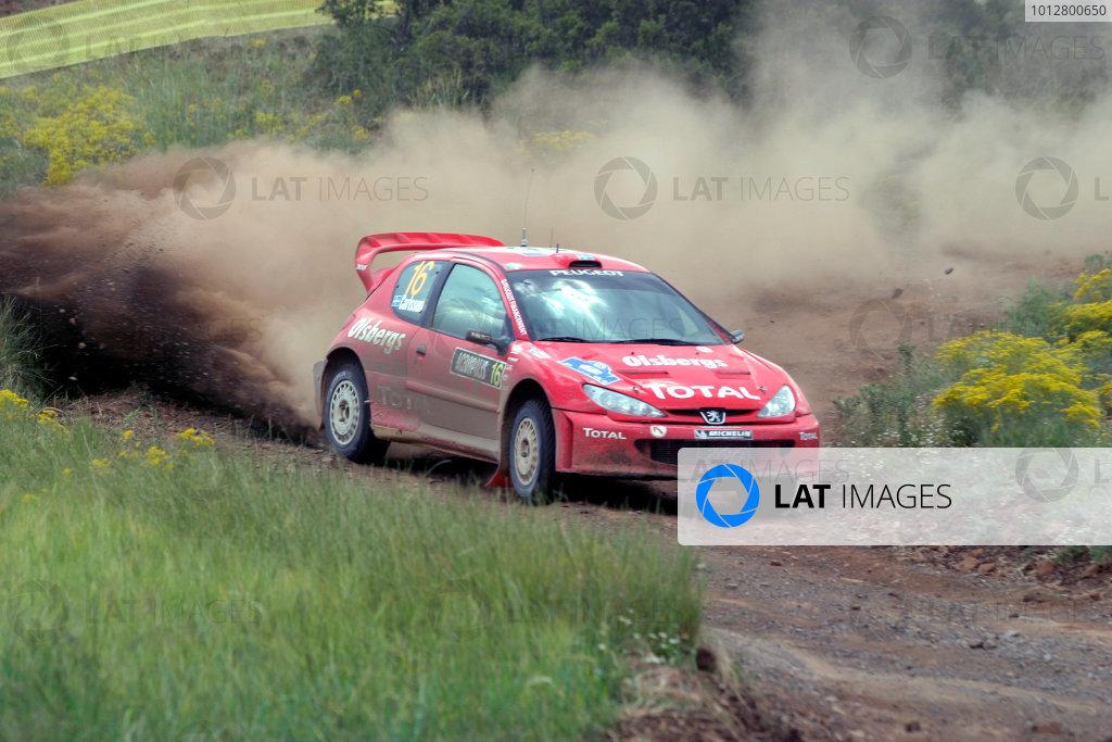 2004 FIA World Rally Champs. Round six, Acropolis Rally.