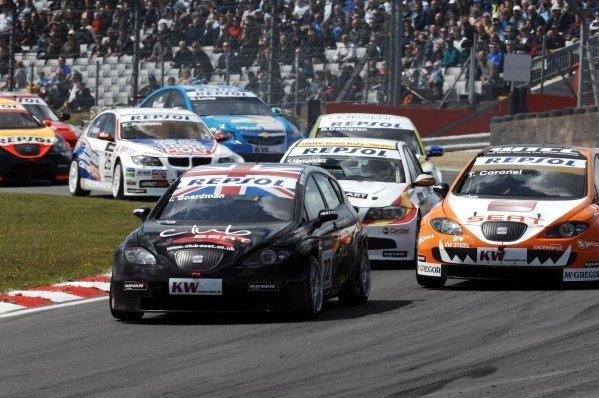 Tom Boardman (GBR), SEAT Leon. FIA World Touring Car Championship, Rd8, Brands Hatch, England, 19 July 2009.