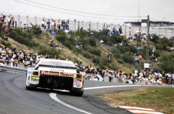 Gianni Giudici / Bernard Salam / Thierry Perrier, Thierry Perrier, Lancia Beta Montecarlo Turbo.