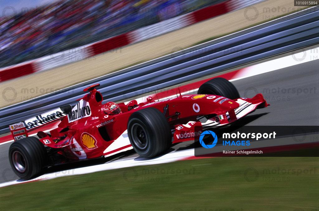 Michael Schumacher, Ferrari F2004.