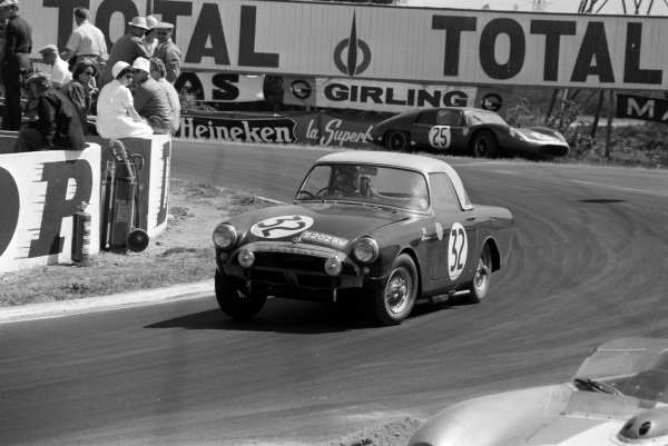 Peter Harper / Peter Procter, Sunbeam Talbot, Sunbeam Alpine.