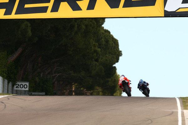 Marco Melandri, GRT Yamaha WorldSBK, Michael Ruben Rinaldi, Barni Racing Team.