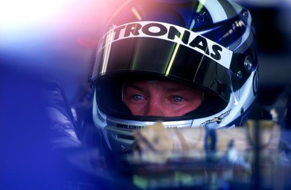 Kimi Raikkonen(FIN) Sauber Petronas C20Formula One Testing,Silverstone, England.,12-14 June 2001.