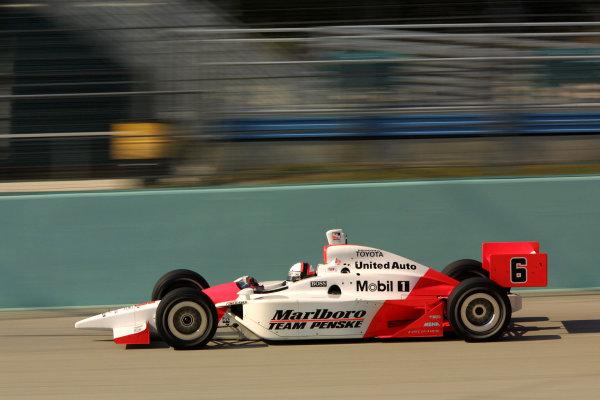 2003 IRL IndyCar Homestead, 2/28-3/2, 2003, Homestead Miami Speedway, USA.Gil de Ferran.Copyright: 2003 Phillip Abbott, USA.LAT Photographic.