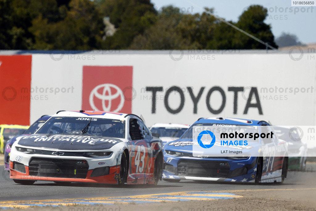 #43: Erik Jones, Richard Petty Motorsports, Chevrolet Camaro Black Entrepreneur Initiative