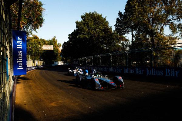 Felipe Massa (BRA), Venturi Formula E, Venturi VFE05, leads Alexander Sims (GBR) BMW I Andretti Motorsports, BMW iFE.18